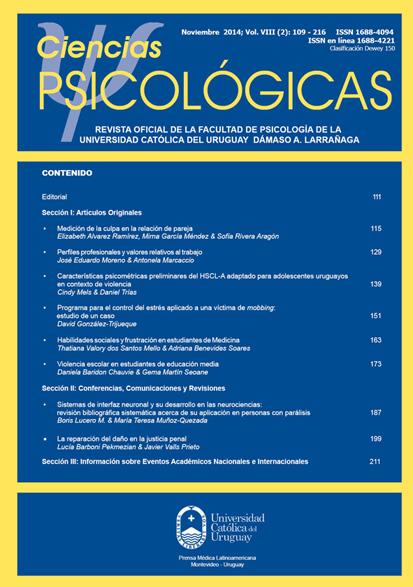 Ver 2014; Volumen 8 (2)