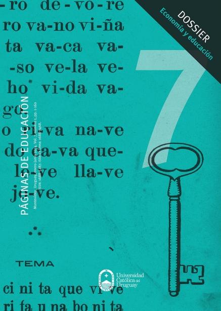 Ver Vol. 7 Núm. 1 (2014): Páginas de Educación
