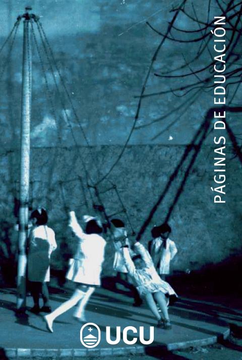 Ver Vol. 13 Núm. 1 (2020): Páginas de Educación