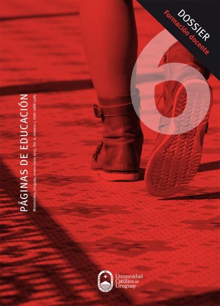 Ver Vol. 6 Núm. 1 (2013): Páginas de Educación