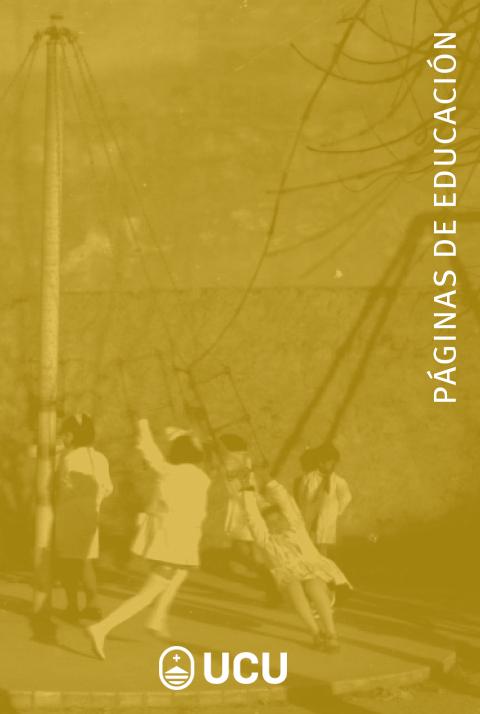 Ver Vol. 14 Núm. 1 (2021): Páginas de Educación