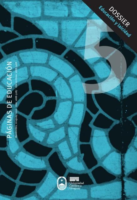 Ver Vol. 5 Núm. 1 (2012): Páginas de Educación
