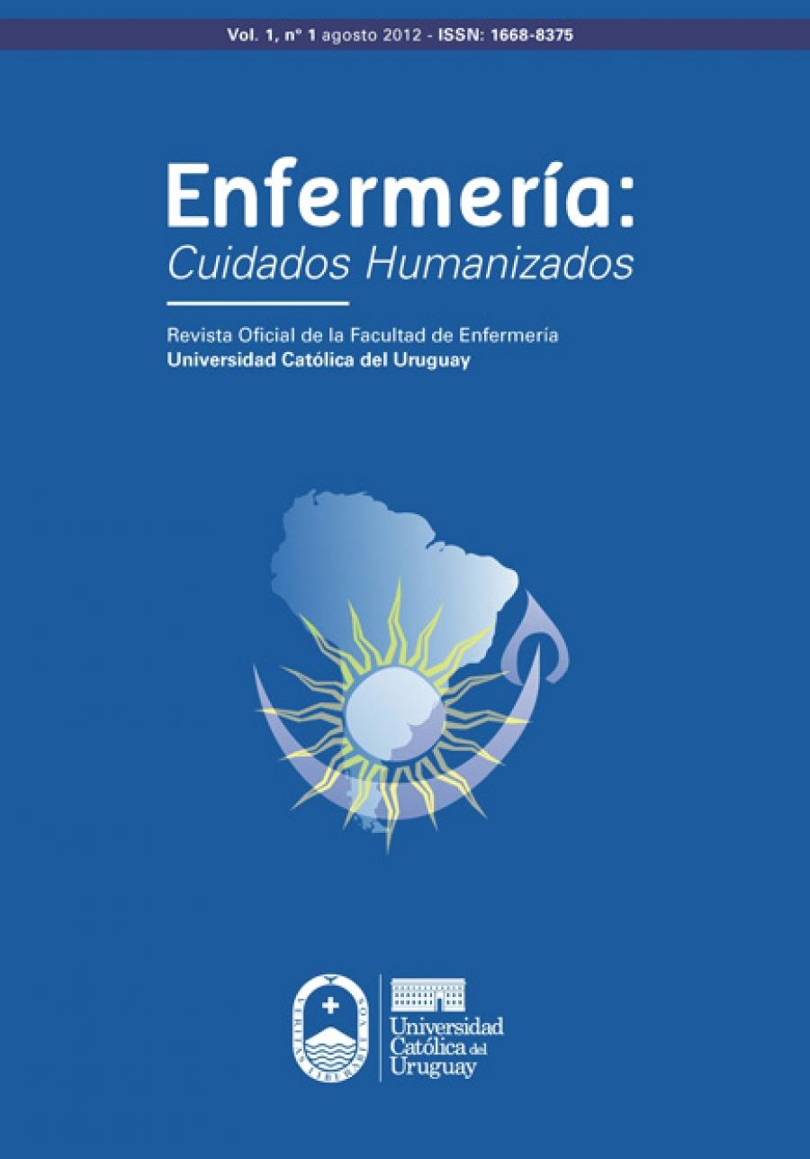 Ver Vol. 1 Núm. 1 (2012): Enfermería Cuidados Humanizados
