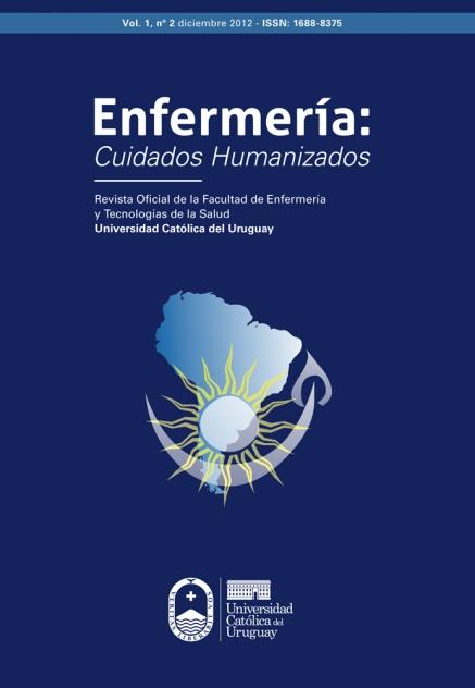 Ver Vol. 1 Núm. 2 (2012): Enfermería Cuidados Humanizados