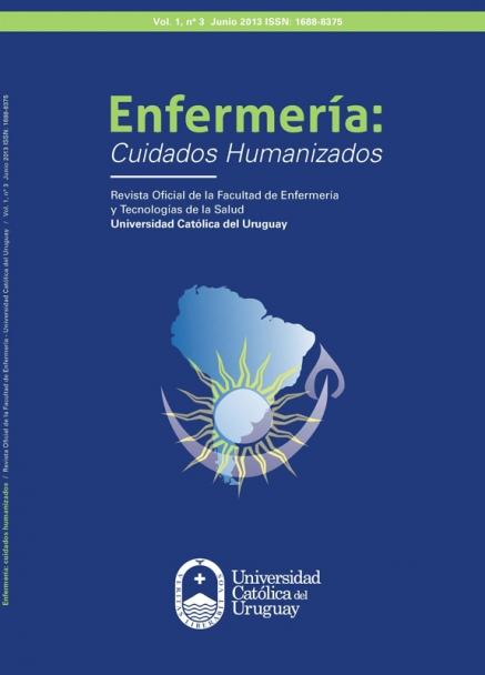 Ver Vol. 1 Núm. 3 (2013): Enfermería: Cuidados Humanizados