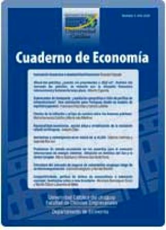 Ver Núm. 3 (2008): Cuaderno de Economía