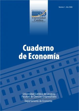 Ver Núm. 1 (2006): Cuaderno de Economía
