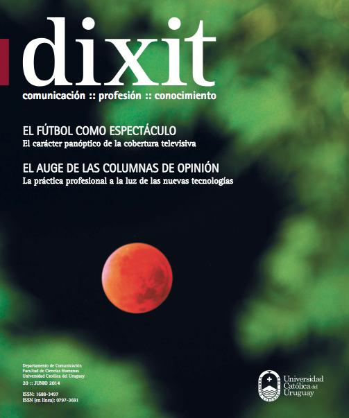 Ver Núm. 20 (2014): Dixit