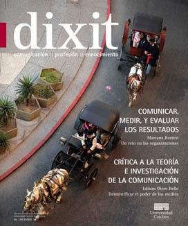 Ver Núm. 8 (2008): DIXIT